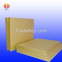 Vermiculite boards used for fireplace insulation