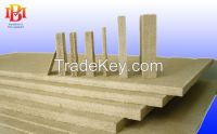 Vermiculite board used for glass casting