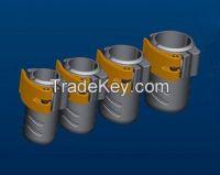 Custom rigid High Modulus Carbon Fiber Pole 40FT telescopic pole