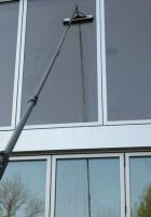 light and strong 100% carbon fiber telescopic pole as waterfed pole / water fed pole