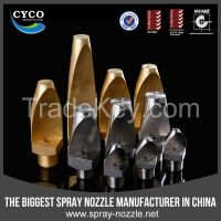CYCO Narrow Angle Flat Fan Nozzle, Veejet Metal High Impact Fan Nozzle