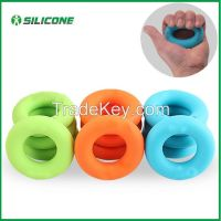 2015 best selling silicone hand grip strengthener