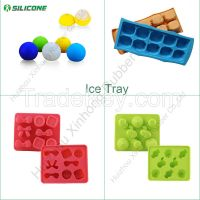 100% food grade ice tray silicone ice molds/ice cube tray