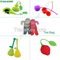 Wonderful gift Mr.Tea Silicone Tea Infuser / tea bag / tea filter
