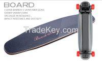 BENCHWHEEL electric skateboard Wireless remote controlled dual-motor drive sino-wave controlled skateboard on-road longboard