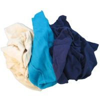 white and colored polo rags(t shirt)