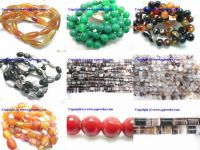 Agate, pearl jewelry, millefiori glass, cat's eye & more jewlry beads
