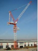 high quality luffing tower crane