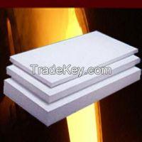 1260C 1430C Ceramic fiber board,insulation board 300 kg/m3