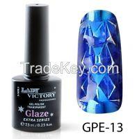 Lady Victory Transparent Gel Polish Nail Art Design Gel Nail Polish Soak Off UV LED GPE 7, 3 ML