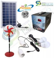 30W Portable DC Solar Home Systems