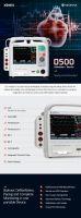 defibrillator monitor 500