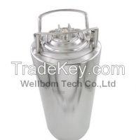Cornelius style Stainless steel 5 gallon Beer OB Keg With metal handle