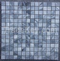 Cloudy Grey Mosaic