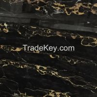 Italy Portoro Marble Slab for Building