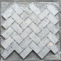 Carrara  White Mosaic Tile White marble mosaic