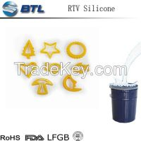 silicone rtv-2 for art decoration soap and candle mold making