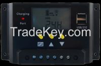 hot sell 12/24V LCD Screen solar controller