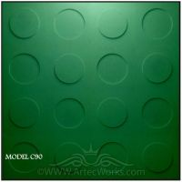 3d wall panel from Artec