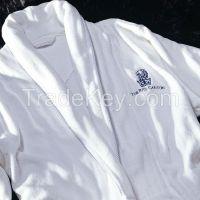 hotel bathrobe 100% cotton