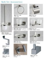 Bathroom SS Rack & Holder