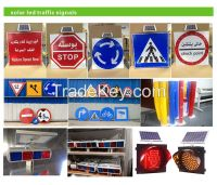 traffic signs & signals, solar traffic lights,