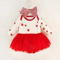 OEM Fashion Cotton Baby Clothes Romper Princess Newborn Baby Girl Dress