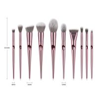 10 pcs Special handle fingerprint Makeup brush set