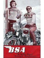 BSA M20 500cc front end Girder Fork Chrome Plated & Black Paint for vintage bike-111