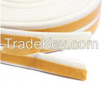E profile EPDM white door&window sealing tape/sealing stripe epdm sound proof rubber seal stripe