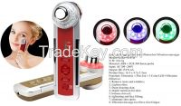 4 in 1 multifunctional Photon-Ultrasonic-Ionic-Vibrate Home Use Skin Care beauty Device