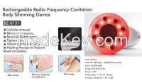 RF radio frequency cavitation body ultrasonic slimming beauty machine for home use