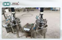 Stainless Steel High Pressure Reactor 10L - 50L 300 Mm*4 Mm Customized Mixing
