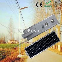 IP65 standard adjustable 60w  solar street light