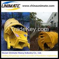 Foundation construction rotary drilling rock bucket clay drill bucket for any type drilling rig
