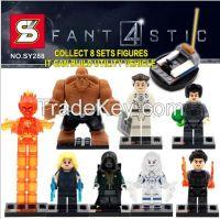 Kids toys 32pcs Building BlocksToys minifigures superhero Dr. Doom mag