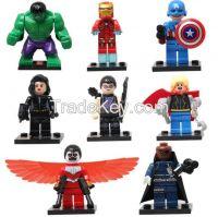 Minifigures Building BlocksToys 80pcs super heroes action figure Aveng