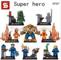 kids toys minifigure sy167 marvel action figure super hero legoe brick