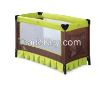 Multi-functional foldable baby playpen/travel cot
