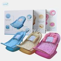 Safe foldable baby shower chair