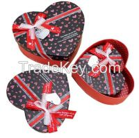 wholesales packaging gift heart shape box
