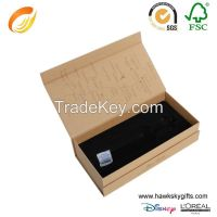 Accept customizejewelry necklace packaging paper box