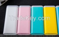 USB Portable Power Bank External Battery with Different Connector