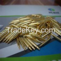 DP1-038057-FB03test probe with gold plated and spring loaded pogo pin