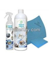 500ml Clean and Coat Cleaner And Sealer + 275ml Liquid Shield + application cloth