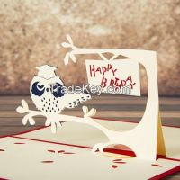 VN 3D card for Chrismas, Newyear, Easter