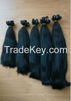 Vietnamese best wholesale price for 100% virgin hair, human hair straight weft hair 10- 30 inches with highest quality