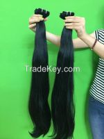 Vietnamese best wholesale price for 100% natural straight weft hair 10- 30 inches with highest quality