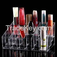 Acrylic cosmetic display box