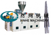 SJSZ Series Conical Twin-Screw Plastics Extruder